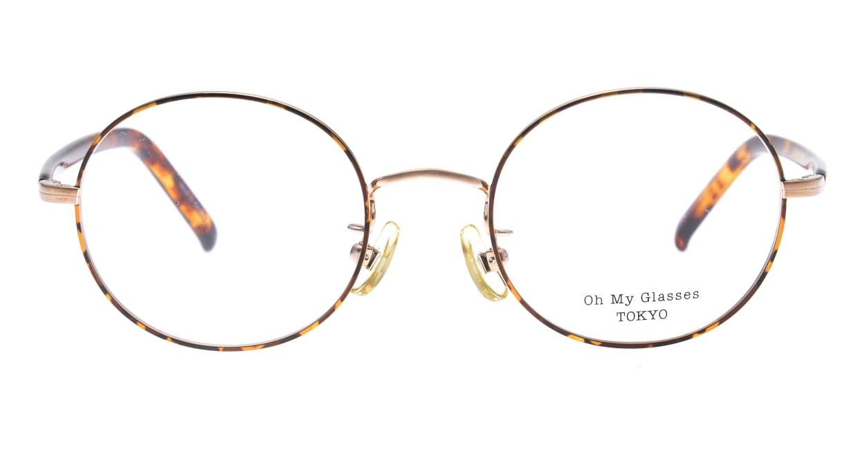 Oh My Glasses TOKYO Lia2 omg-133-DM-48 [メタル/丸メガネ/べっ甲柄]