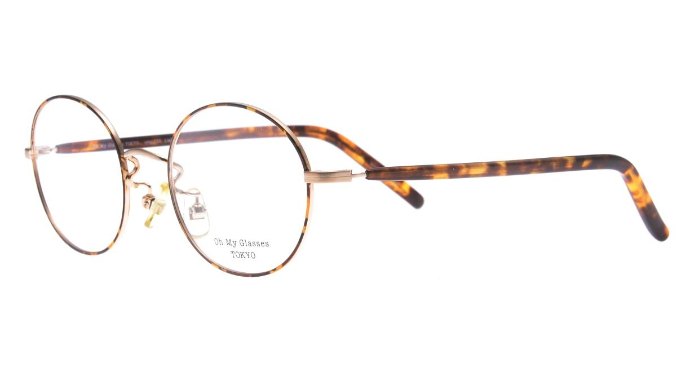 Oh My Glasses TOKYO Lia2 omg-133-DM-48 [メタル/丸メガネ/べっ甲柄]  1