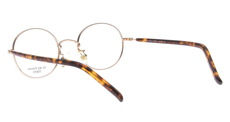 Oh My Glasses TOKYO Lia2 omg-133-DM-48 [メタル/丸メガネ/べっ甲柄]  3