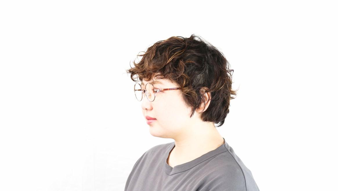Oh My Glasses TOKYO Lia2 omg-133-DM-48 [メタル/丸メガネ/べっ甲柄]  8