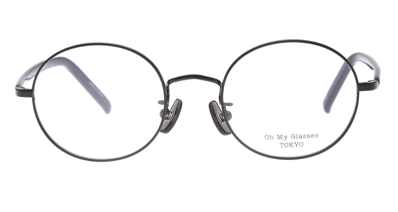 Oh My Glasses TOKYO Lia2 omg-133-BKM-48 [メタル/丸メガネ]
