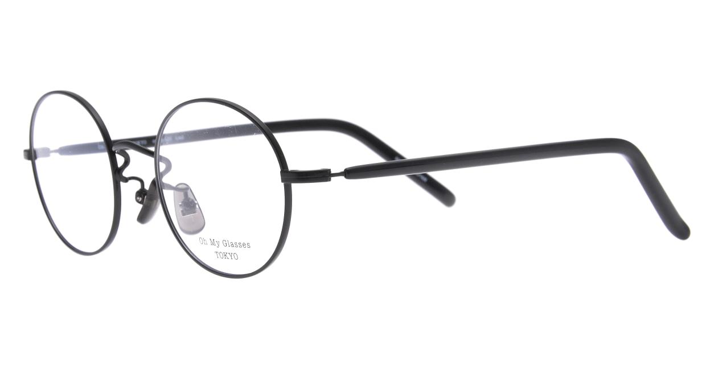 Oh My Glasses TOKYO Lia2 omg-133-BKM-48 [メタル/丸メガネ]  1