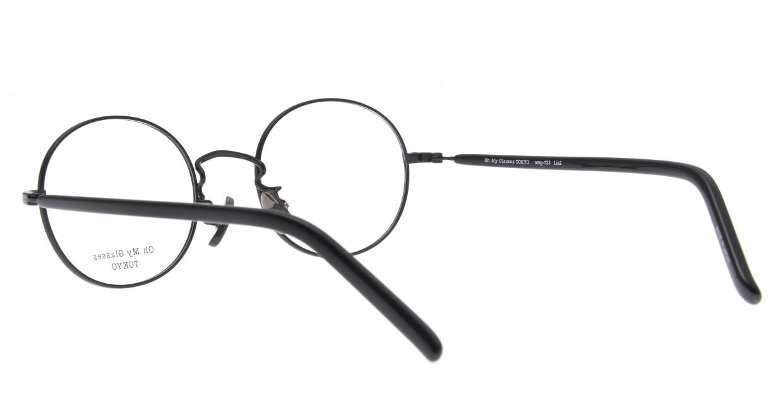 Oh My Glasses TOKYO Lia2 omg-133-BKM-48 [メタル/丸メガネ]  3