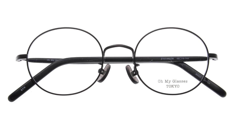 Oh My Glasses TOKYO Lia2 omg-133-BKM-48 [メタル/丸メガネ]  4