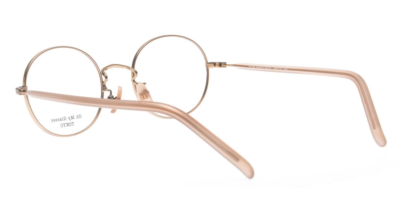 Oh My Glasses TOKYO Lia2 omg-133-MRN-48 [メタル/丸メガネ/ピンク]  3