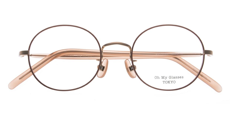 Oh My Glasses TOKYO Lia2 omg-133-MRN-48 [メタル/丸メガネ/ピンク]  4