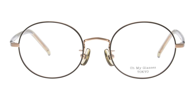 Oh My Glasses TOKYO Lia2 omg-133-GRN-48 [メタル/丸メガネ/緑]