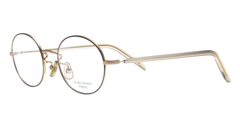 Oh My Glasses TOKYO Lia2 omg-133-GRN-48 [メタル/丸メガネ/緑]  1