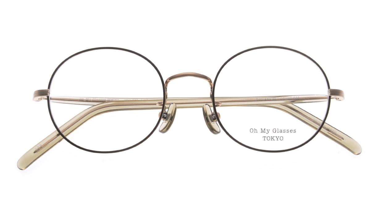 Oh My Glasses TOKYO Lia2 omg-133-GRN-48 [メタル/丸メガネ/緑]  4