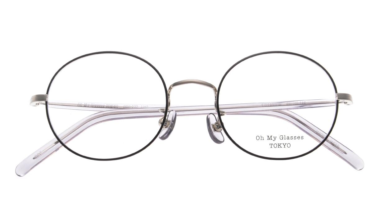Oh My Glasses TOKYO omg-133 Lia2-GRY-48 [メタル/丸メガネ]  4