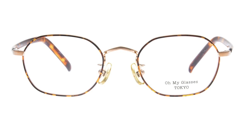 Oh My Glasses TOKYO Reggie2-omg-134 DM-47 [メタル/スクエア/べっ甲柄]