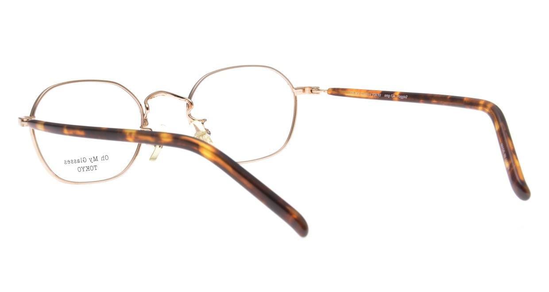 Oh My Glasses TOKYO Reggie2-omg-134 DM-47 [メタル/スクエア/べっ甲柄]  3