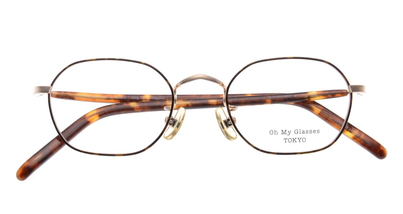 Oh My Glasses TOKYO Reggie2-omg-134 DM-47 [メタル/スクエア/べっ甲柄]  4