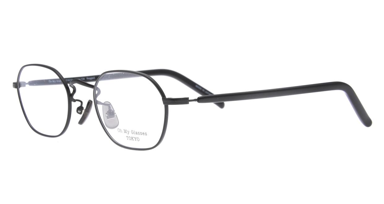 Oh My Glasses TOKYO omg-134 Reggie2-BKM-47 [メタル/スクエア]  1