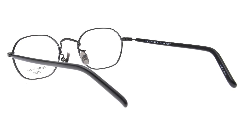 Oh My Glasses TOKYO omg-134 Reggie2-BKM-47 [メタル/スクエア]  3