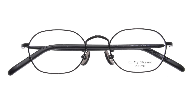 Oh My Glasses TOKYO omg-134 Reggie2-BKM-47 [メタル/スクエア]  4