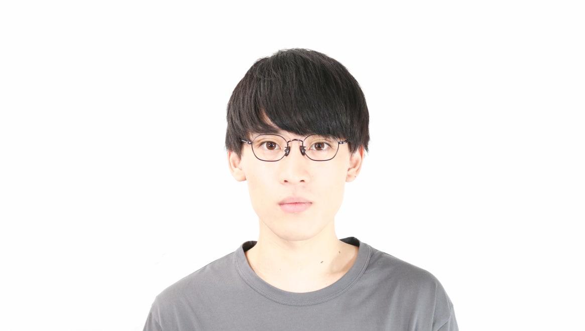 Oh My Glasses TOKYO omg-134 Reggie2-BKM-47 [メタル/スクエア]  5
