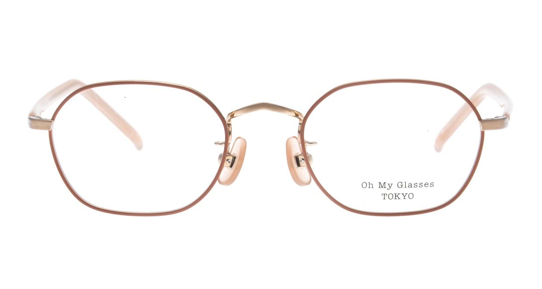 Oh My Glasses TOKYO omg-134 Reggie2-MRN-47 [メタル/スクエア/ピンク]
