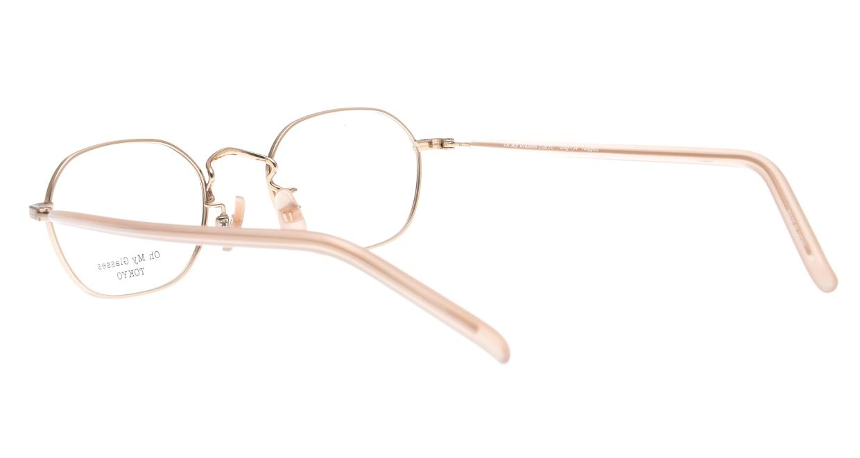 Oh My Glasses TOKYO omg-134 Reggie2-MRN-47 [メタル/スクエア/ピンク]  3