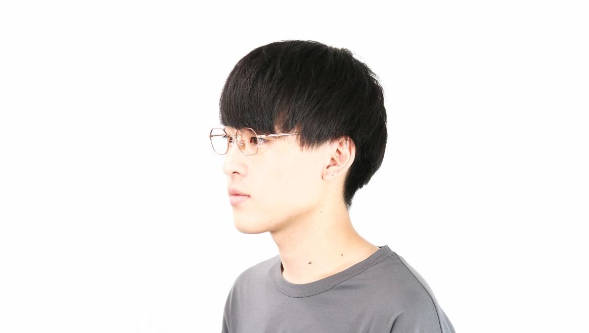 Oh My Glasses TOKYO omg-134 Reggie2-MRN-47 [メタル/スクエア/ピンク]  6