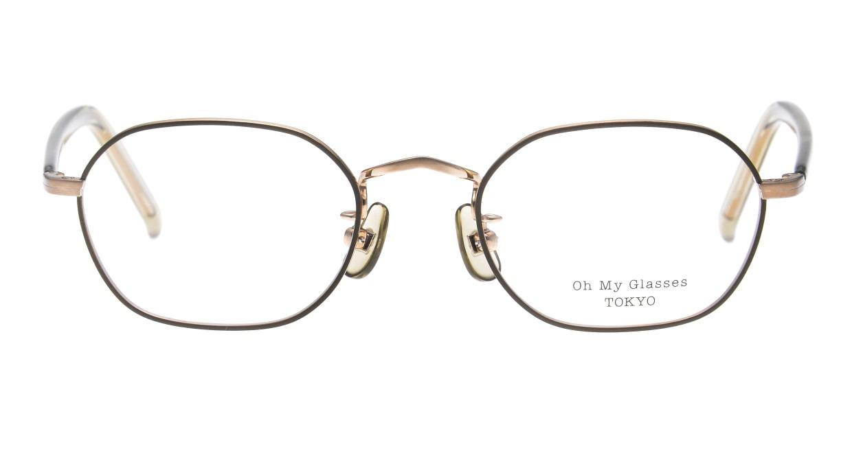 Oh My Glasses TOKYO omg-134 Reggie2-GRN-47 [メタル/スクエア/緑]