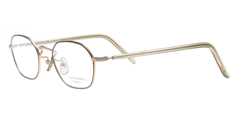 Oh My Glasses TOKYO omg-134 Reggie2-GRN-47 [メタル/スクエア/緑]  1