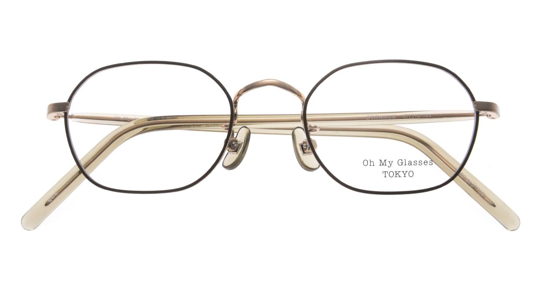 Oh My Glasses TOKYO omg-134 Reggie2-GRN-47 [メタル/スクエア/緑]  4