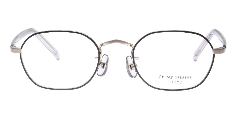Oh My Glasses TOKYO omg-134 Reggie2-GRY-47 [メタル/スクエア]