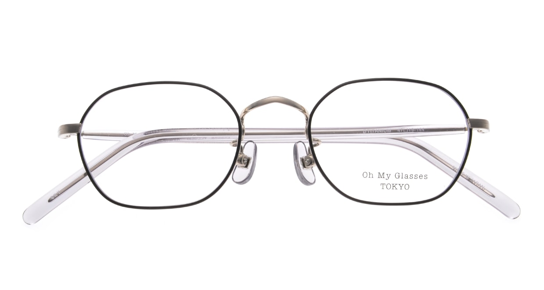 Oh My Glasses TOKYO omg-134 Reggie2-GRY-47 [メタル/スクエア]  4