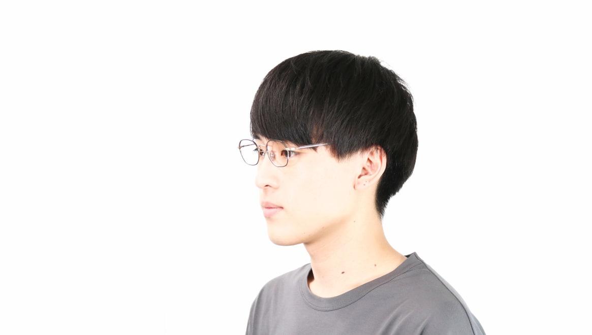 Oh My Glasses TOKYO Reggie2-omg-134 GRY-47 [メタル/スクエア]  6