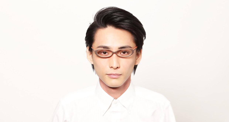 木調浪漫 拾参-みかん [鯖江産/フォックス/オレンジ]  4