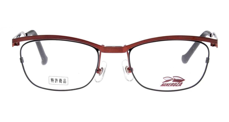 ハネルザHN-1041-04-49 [メタル/鯖江産/ウェリントン/赤]