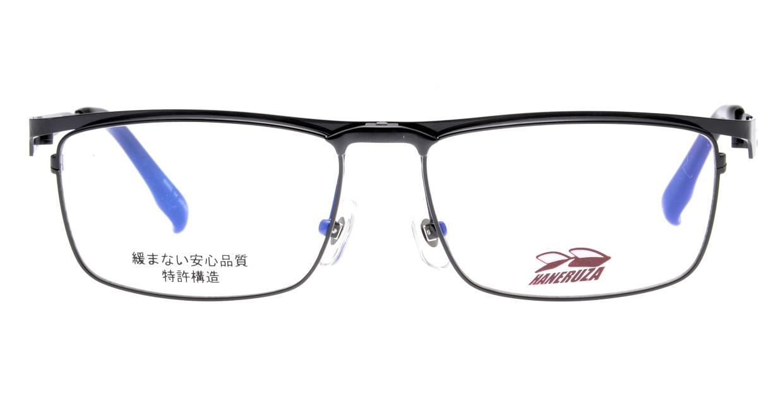 ハネルザHN-1043-BK-54 [メタル/鯖江産/ウェリントン]