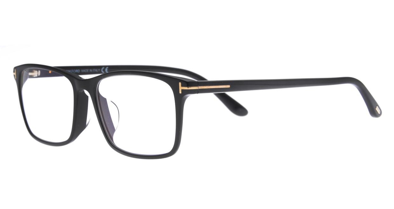 トムフォード FT5584FBAsianFitBLUE BLOCK FILTER-001-55 [黒縁/ウェリントン]  1