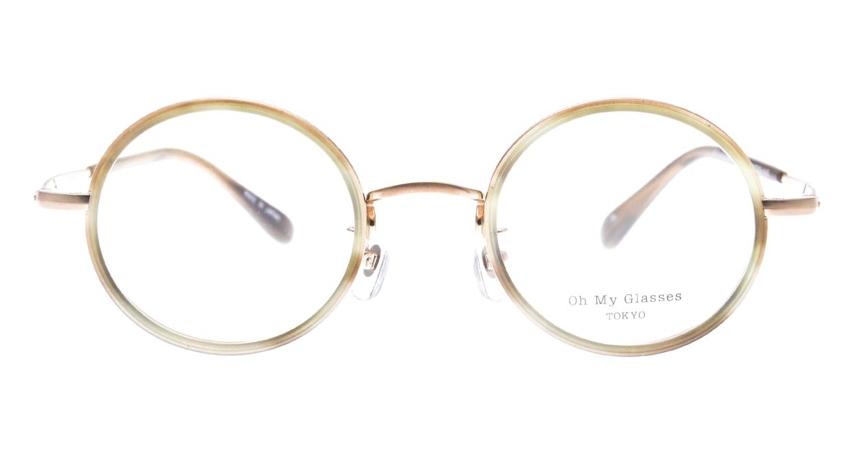 Oh My Glasses TOKYO Dustin omg-062-OL-44 [メタル/鯖江産/丸メガネ/グレー]