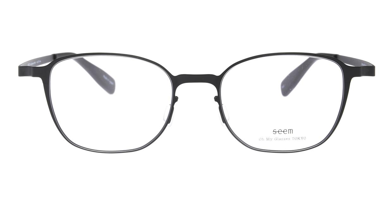 seem Oh My Glasses TOKYO omg-135 Hans-BKM-50 [メタル/鯖江産/ウェリントン]