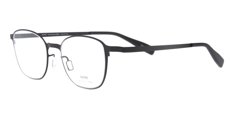 seem Oh My Glasses TOKYO omg-135 Hans-BKM-50 [メタル/鯖江産/ウェリントン]  1