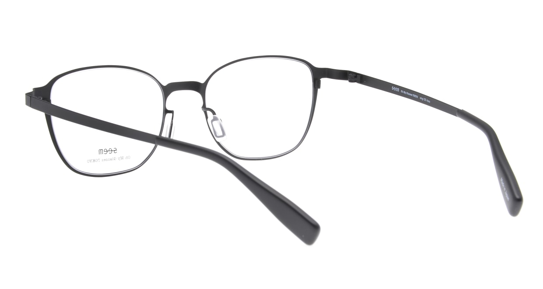 seem Oh My Glasses TOKYO omg-135 Hans-BKM-50 [メタル/鯖江産/ウェリントン]  3