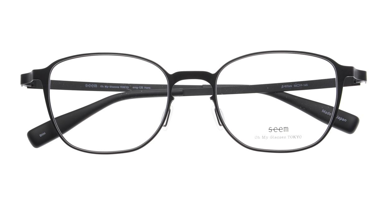seem Oh My Glasses TOKYO omg-135 Hans-BKM-50 [メタル/鯖江産/ウェリントン]  4