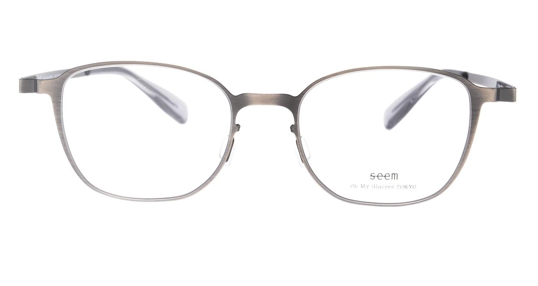 seem Oh My Glasses TOKYO omg-135 Hans-ATS-50 [メタル/鯖江産/ウェリントン/シルバー]