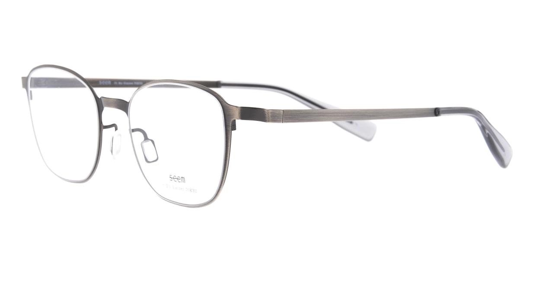 seem Oh My Glasses TOKYO omg-135 Hans-ATS-50 [メタル/鯖江産/ウェリントン/シルバー]  1