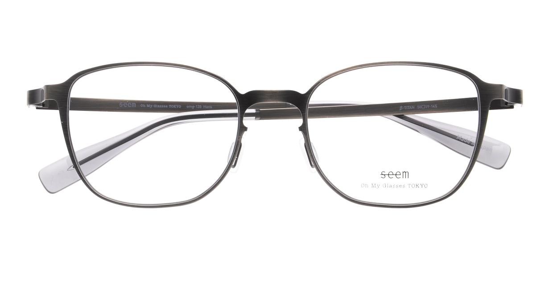 seem Oh My Glasses TOKYO omg-135 Hans-ATS-50 [メタル/鯖江産/ウェリントン/シルバー]  4