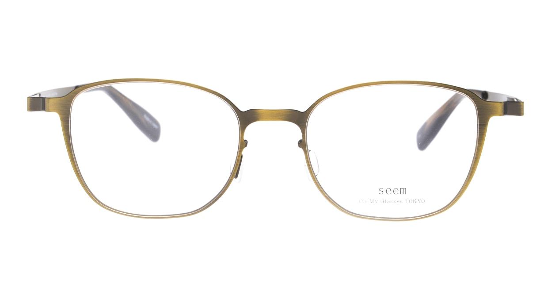 seem Oh My Glasses TOKYO omg-135 Hans-ATG-50 [メタル/鯖江産/ウェリントン/ゴールド]