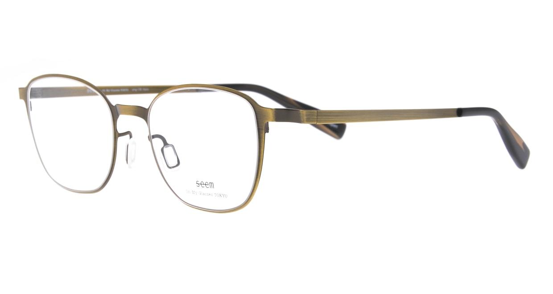 seem Oh My Glasses TOKYO omg-135 Hans-ATG-50 [メタル/鯖江産/ウェリントン/ゴールド]  1