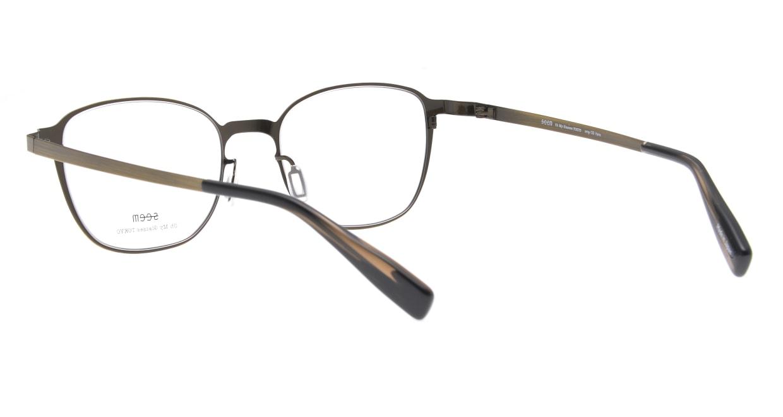 seem Oh My Glasses TOKYO omg-135 Hans-ATG-50 [メタル/鯖江産/ウェリントン/ゴールド]  3