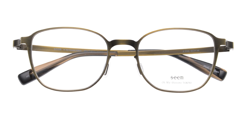seem Oh My Glasses TOKYO omg-135 Hans-ATG-50 [メタル/鯖江産/ウェリントン/ゴールド]  4
