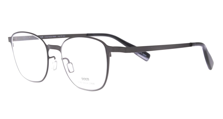 seem Oh My Glasses TOKYO omg-135 Hans-GRY-50 [メタル/鯖江産/ウェリントン/グレー]  1