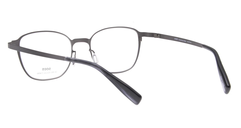 seem Oh My Glasses TOKYO omg-135 Hans-GRY-50 [メタル/鯖江産/ウェリントン/グレー]  3