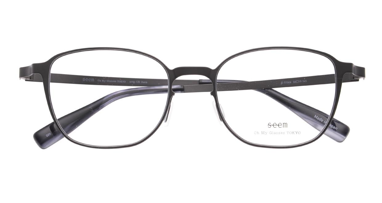 seem Oh My Glasses TOKYO omg-135 Hans-GRY-50 [メタル/鯖江産/ウェリントン/グレー]  4