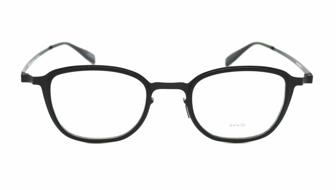 seem Oh My Glasses TOKYO omg-136 Rudolf-BKMーBK-48 [メタル/鯖江産/ウェリントン]